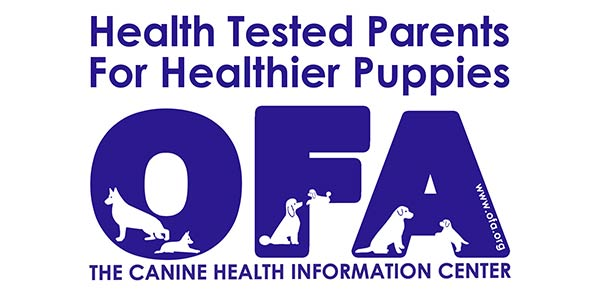 Canine Health Information Center OFA Member